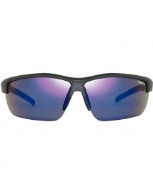 Sinner Antigua Matte Black/ Blue Mirror Lens & Orange afbeelding
