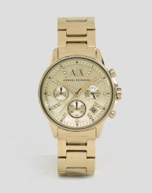 Armani Exchange Ax4327 Bracelet Watch In Gold afbeelding