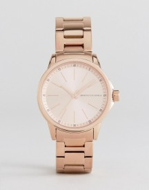 Armani Exchange Ax4347 Bracelet Watch In Rose Gold afbeelding