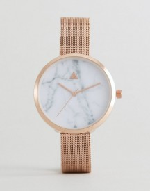 Asos Marble Face Mesh Watch afbeelding