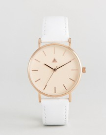 Asos Satin Lens Leather Watch afbeelding