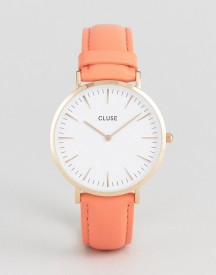 Cluse La Boheme Coral Leather Watch afbeelding