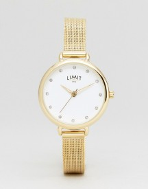 Limit 6222.37 Mesh Watch In Gold afbeelding