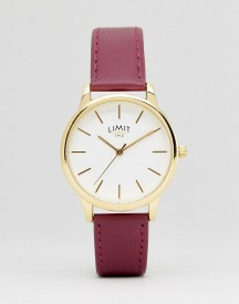 Limit 6235.37 Faux Leather Watch In Pink afbeelding
