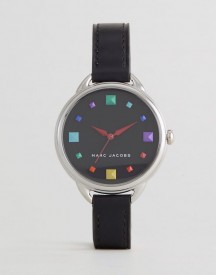 Marc Jacobs Mj1589 Betty Leather Watch In Black afbeelding