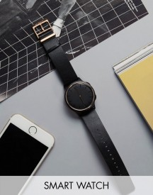 Misfit Phase Smart Watch In Black/gold Mis5002 afbeelding