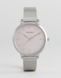 Sekonda 2473 Mesh Watch In Silver afbeelding
