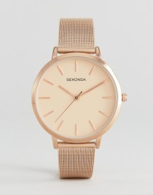 Sekonda 2475 Mesh Watch In Rose Gold afbeelding