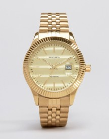 Sekonda Gold Bracelet Watch Exclusive To Asos afbeelding