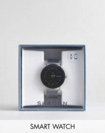 Skagen Connected Skt5000 Falster Mesh Display Smart Watch In Silver afbeelding