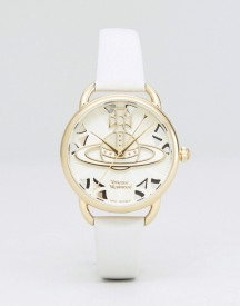 Vivienne Westwood Vv163cmcm Orb Leather Watch In Nude afbeelding