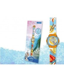 Disney Frozen Olaf Chilling In The Sunshine Digital Horloge - Horloge - Kunststof - Oranje afbeelding