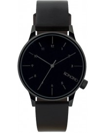 Komono Winston Regal All Black Horloge Kom-w2264 afbeelding