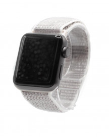Apple Watch 1/2/3/4/5/6/se Nylon Loop Band -  Sea Shell - Geschikt Voor Alle Apple Watches afbeelding