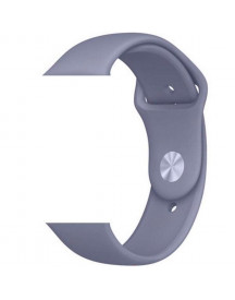 Apple Watch Sport Band -  Lavender Gray - Geschikt Voor Alle Apple Watches - Maat: Sm afbeelding