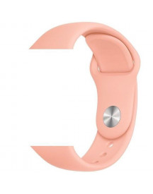 Apple Watch Sport Band -  Grapefruit - Geschikt Voor Alle Apple Watches - Maat: Ml afbeelding