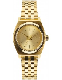 Nixon A399502 Small Time Teller All Gold - Horloge - 26mm - Goud afbeelding
