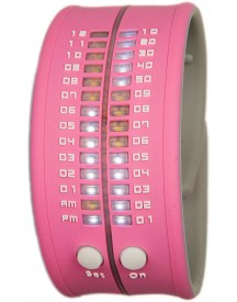 Reflex Slap-on Watch - Babyroze Horloge 33mm afbeelding