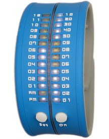 Reflex Slap-on Watch - Blauw Horloge 33mm afbeelding