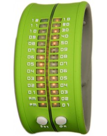 Reflex Slap-on Watch - Groen Horloge 33mm afbeelding
