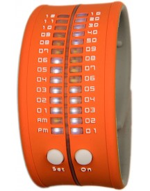 Reflex Slap-on Watch Mini - Oranje Horloge 28mm afbeelding