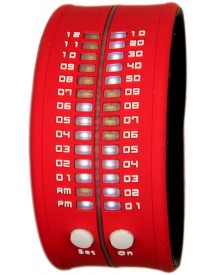 Reflex Slap-on Watch - Rood Horloge 33mm afbeelding