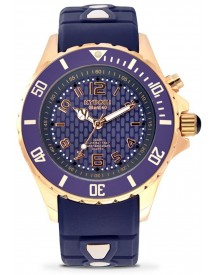 Kyboe! Rosegold Series - Rg.40-002 - Rose Gold Twilight - Horloge - Dames - Ø 40 Mm afbeelding