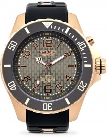 Kyboe! Rosegold Series - Rg.48-001 - Rose Gold Night - Horloge - Dames - Ø 48 Mm afbeelding