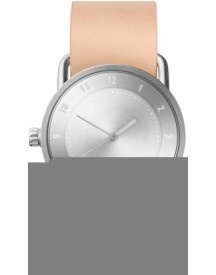 Tid No.2 36 Natural Leather Horloge 20220205 afbeelding