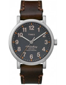 Timex Style Waterbury Collection T2p587 - Horloge - 40 Mm - Bruin afbeelding