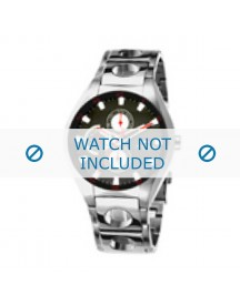 Tommy Hilfiger Horlogeband Th-37-3-14-0685 - Th679000639 / 1790621 Staal Zilver 22mm afbeelding