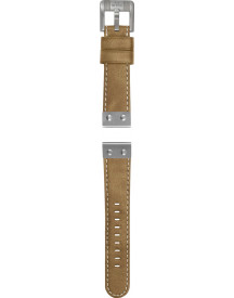 Camel Leather Strap With afbeelding