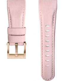 Pink Leather Strap For Ceo Goliath afbeelding