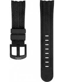 Rubber Strap With Pattern 48 Mm Met Gesp afbeelding