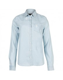 8mm. Denim Blouse Destroyed Blouses afbeelding