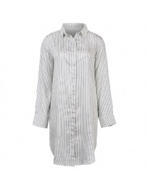 Native Youth Longline Stripe Shirt Blouses afbeelding