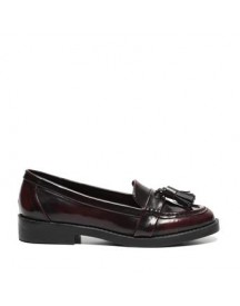 Invito - Rode Loafers afbeelding