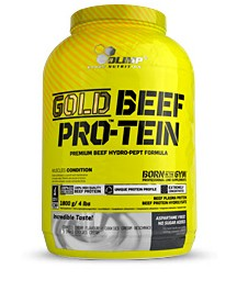 Gold Beef Pro-tein 1.8 Kg afbeelding