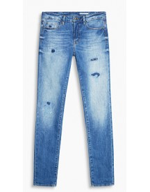 Esprit 5-pocket-stretchjeans Blue Medium Washed For Women afbeelding