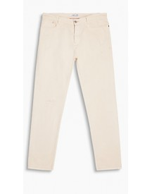 Esprit 5-pocket-stretchjeans Off White For Men afbeelding