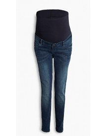 Esprit Casual Stretchjeans Met Band Over De Buik Medium Washed For Women afbeelding
