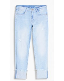 Esprit Jeans & Broeken Blue Light Washed For Women afbeelding