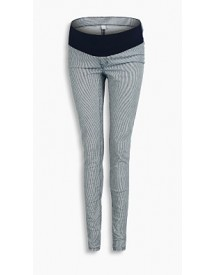 Esprit Katoenen Jegging, Band Onder De Buik Night Blue For Women afbeelding