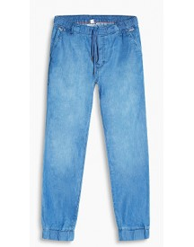 Esprit Joggingbroek Met Denim Look Blue Medium Washed For Women afbeelding