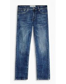 Esprit Straight Stretchjeans Blue Medium Washed For Men afbeelding