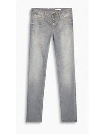 Esprit Stretchjeans Met Contrastdetails Light Beige For Women afbeelding