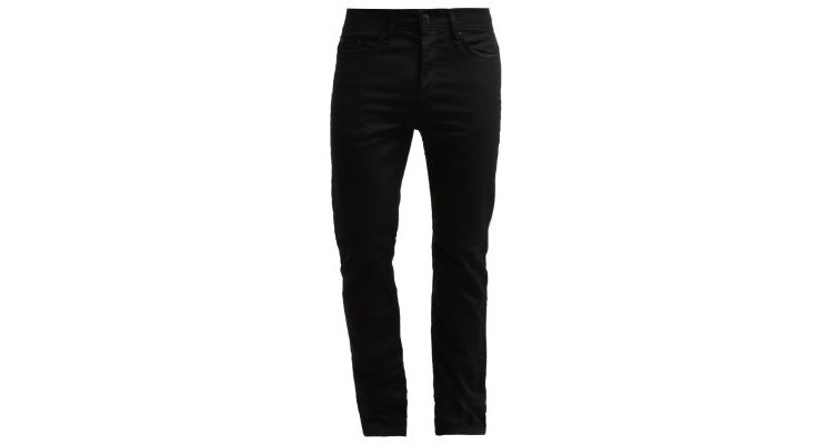 Image Burton Menswear London Skinny Fit Slim Fit Jeans Black