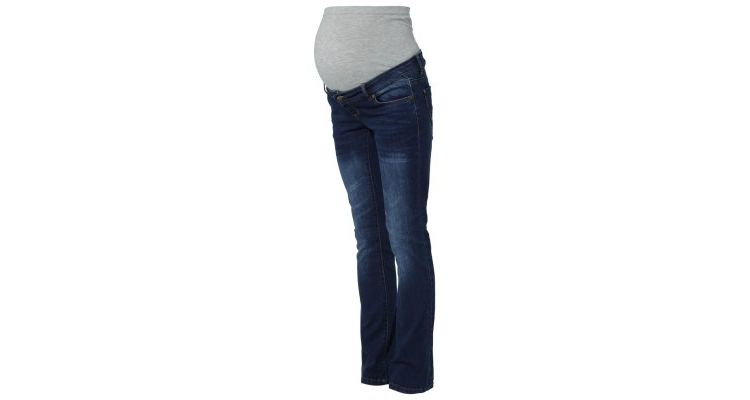 Image Mama Licious Frey Bootcut Jeans Medium Blue Denim