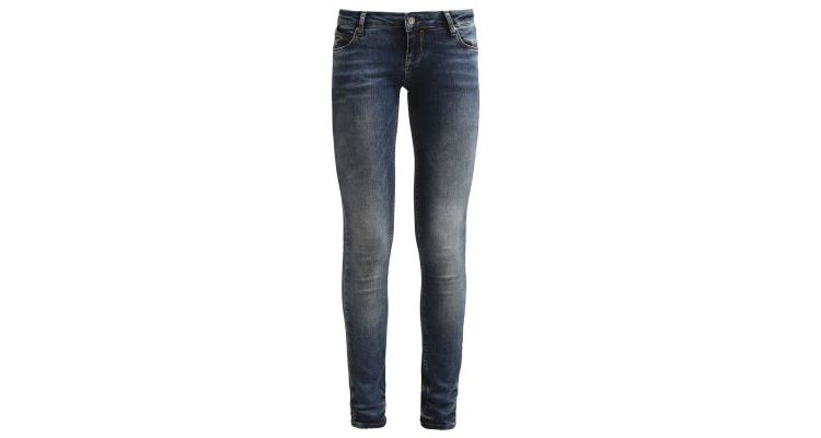 Image Only Onlcoral Slim Fit Jeans Dark Blue