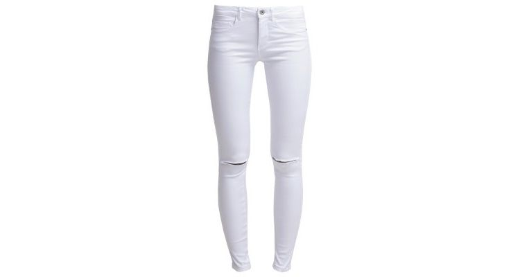 Image Only Onlroyal Slim Fit Jeans White
